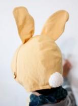 솜꼬리토끼 모자