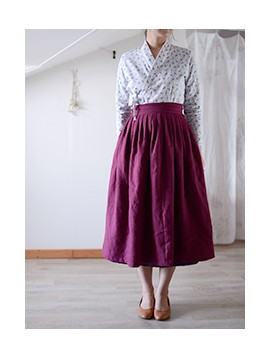 mom's  아름다운 한복 원피스